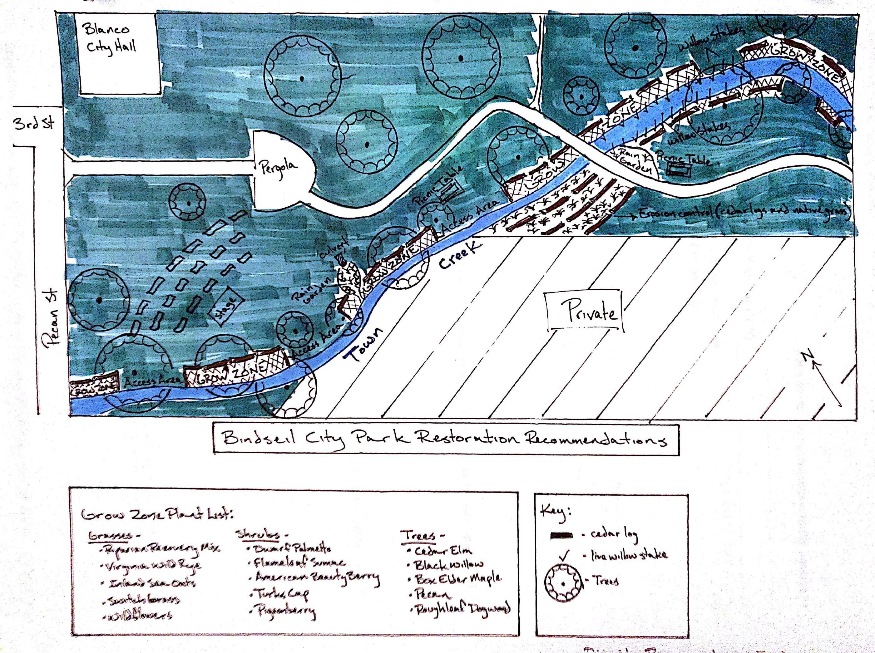 Bindseil City Park Restoration Recommendations